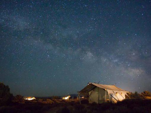 Surviving the campsite in the COVID-19 crisis